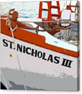 St.nicholas Three Canvas Print