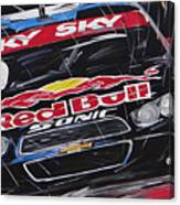 Stock Car Brasil Caca Bueno Canvas Print