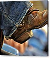 Stock Show Boots I Canvas Print