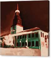 Stock Yards National Bank 537 3 Canvas Print