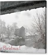 Stockdale Christmas Canvas Print