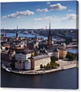 Stockholm Canvas Print