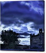 Stockholm Cold Canvas Print