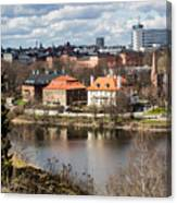 Stockholm From Skansen Canvas Print