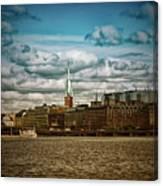 Stockholm Ix Canvas Print