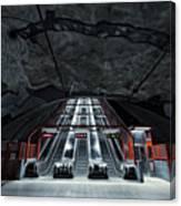Stockholm Metro Art Collection - 007 Canvas Print