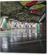 Stockholm Metro Art Collection - 012 Canvas Print