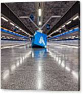 Stockholm Metro Art Collection - 017 Canvas Print