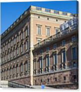 Stockholm Royal Palace  Canvas Print