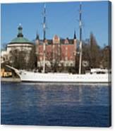 Stockholm Ship Canvas Print