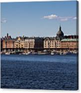 Stockholm Waterscape Canvas Print