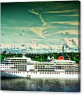 Stockholm X Canvas Print