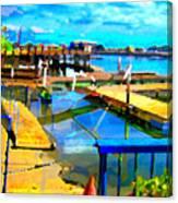 Stockton Harbor Canvas Print