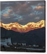 Stok Range At Dawn, Stok, 2004 Canvas Print