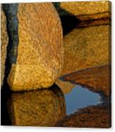 Stone And Shadow Canvas Print