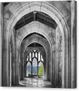 Stone Archways Canvas Print