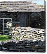 Stone Barn Doolin Ireland Canvas Print