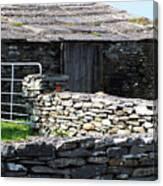 Stone Barn Doolin Ireland Canvas Print