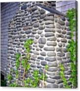 Stone Chimney Canvas Print