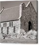 Stone Church Canvas Print
