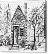 Stone Cottage Canvas Print