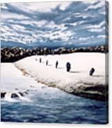 Stone Delusion Canvas Print