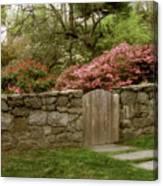 Stone Gate Canvas Print