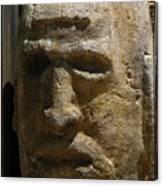 Stone Head Canvas Print
