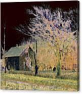Stone House Canvas Print