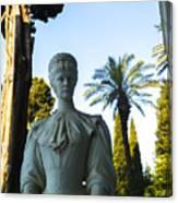 Stone Lady Of Rio Canvas Print