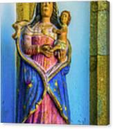 Stone Madonna Canvas Print