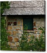 Stone Outhouse 1 Canvas Print