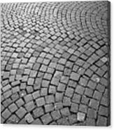 Stone Pavement Canvas Print