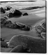 Stone Shore Canvas Print