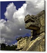 Stone Sky And Clouds Canvas Print