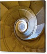 Stone Spiral Canvas Print