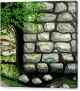 Stone Tunnel Canvas Print