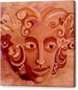 Stone Woman Canvas Print
