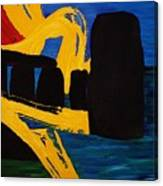 Stonehenge Abstract Evolution1 Canvas Print