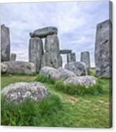 Stonehenge In England Canvas Print