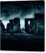 Stonehenge Mood Canvas Print