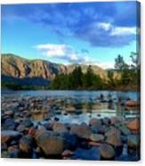 Stones By The Similkameen Canvas Print