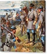 Stonewall Jackson, 1861 Canvas Print