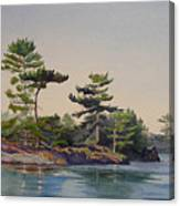 Stoney Lake Morning Canvas Print