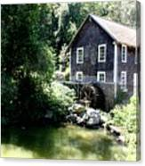 Stony Brook Gristmill And Museum Canvas Print