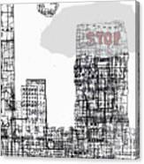Stop II  Canvas Print