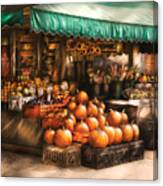 Store - Hoboken Nj - The Fruit Market Canvas Print