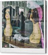 Store Window Stares Canvas Print