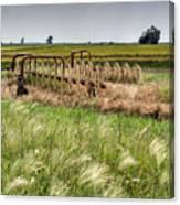 Storm Across The Prairie Canvas Print