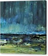 Storm At Sea II Canvas Print